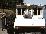 Houseboat holiday on the Trent Severn