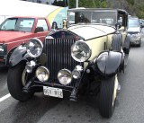 1929 Rolls Royce - in the Nanaimo ferry lineup