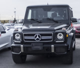 Mercedes series G wagon, about $120,000