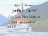 A big Welcome to you JANICE