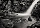 Vennford brook waterfall on Dartmoor