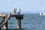 The fisherman will win The tide is too low to jump Rakino Island in the BG