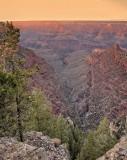 A Canyon Sunset
