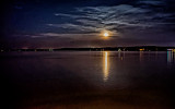 Moonrise, Tennessee River