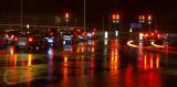 The wet rush hour