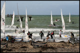 One of my favourite photos I took in 2010 as the Laser yachts were coming ashore after the Winter Champs