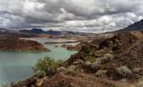 Desert view of the Colorado River