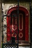 Red door on Legare Street