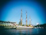Sailing Ship in Bristol Docks