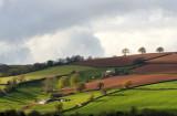 Glancing light on the hills