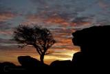 Holwell Tor Sunset on Dartmoor