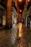 Rainy night in Seville