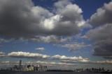 Clouds over NY NY