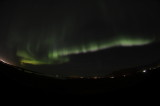 The Aurora Boriales as seen from Iceland
