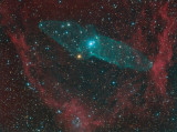 Ou4 (and SH2 129): A Giant Squid Nebula and a Flying Bat