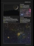 Table of Scorpius NGC6231 to IC4628-GUM56 (the Prawn Nebula)