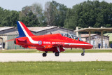 Back down to earth - Red Arrows - 7155