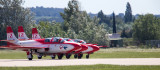 Polish Iskra on the runway - 8323