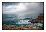 Baie de Nice sous l'orage - 4092