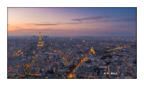 Paris - La nuit arrive sur la Tour Montparnasse - Février 2016 - 9856