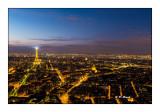 Paris - Tour Montparnasse à la tombée du jour - Février 2016 - 9898