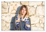 Avec un foulard - Céline - 84
