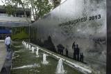 Modern fountain in Üsküdar