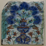 Cuerda seca and Iznik tiles