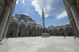 Istanbul Suleymaniye Mosque Inside court area 2015 1227.jpg