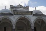 Istanbul Suleymaniye Mosque Inside court area 2015 1282.jpg