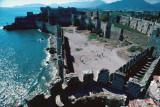 Anamur Castle courts