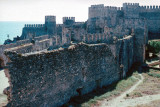 Anamur Castle inner walls