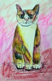 Ginger The Arty Cat