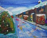 My Artwork Castleton in Snow