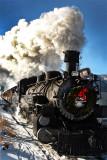 Engine #482, Durango to Silverton