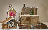 A Pueblo Gingerbread House