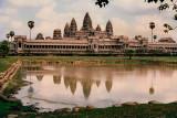 Angkor Wat Midday on Film 1993