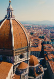 Brunelleschi's monumental dome of the Florence Cathedral