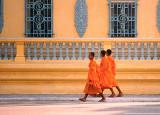 Monks on the Street