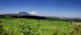 Volcano & Rice Fields; East Bali