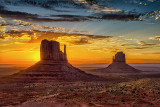Monument Valley: Color & B&W