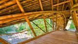 Bamboo Bridge at the Green School