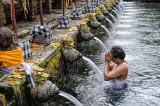 Cleansing Prayers at Tirta Empul Holy Springs
