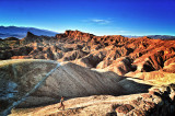 Hiking Zabriskie Point