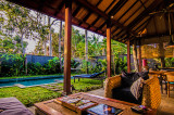 Private Pool, Outdoor Living & Dining Areas