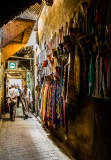 Garment Alley in the Souk