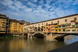 Morning at Ponte Vecchio Bridge