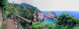 Hiking to Vernazza