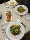 Salade Verde & Beef Carpaccio