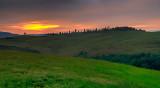 Sunrise Tuscan Hills